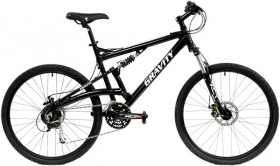 Gravity Fsx 3.0 Full Suspension Mountain Bikes