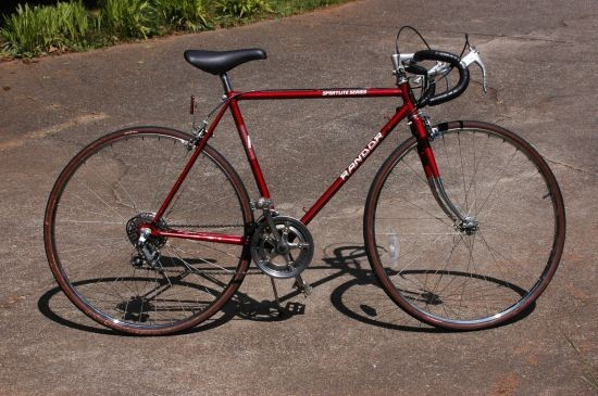 Red Sportlite Road Bike